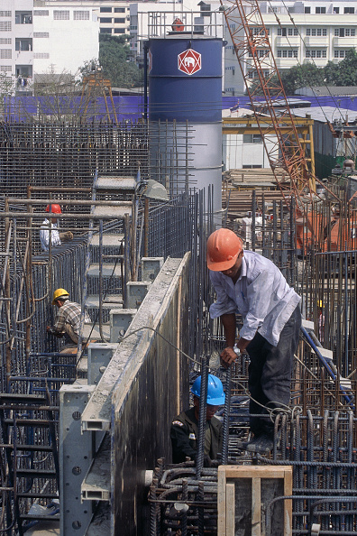 2002「Fixing steel reinforcement for a water treatment plant in Bangkok Thailand.」:写真・画像(12)[壁紙.com]