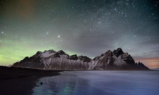 star sky「Iceland Landscape」:スマホ壁紙(17)