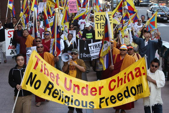 Tibet「Pro-Tibet Supporters Mark 50th Anniversary Of The Uprising Against China」:写真・画像(12)[壁紙.com]