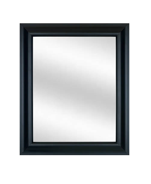 Picture Frame in Black with Mirror, White Isolated:スマホ壁紙(壁紙.com)