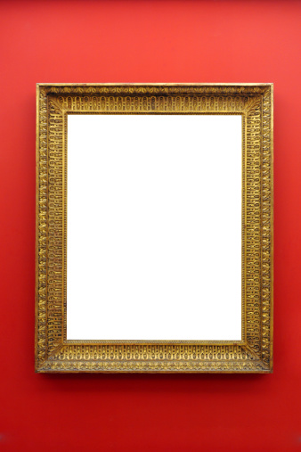 Clip Art「Picture Frame on Wall - XLarge」:スマホ壁紙(8)