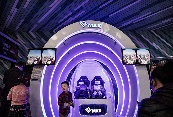 Amusement Park Ride「China's Virtual Reality Arcades Bring VR To The Masses」:写真・画像(0)[壁紙.com]