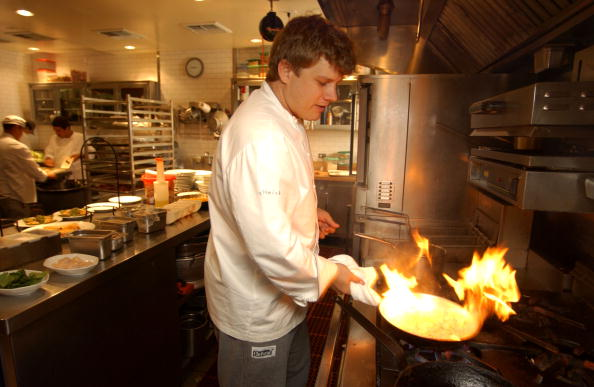 Chef「Ben Ford, Son of Harrison Ford」:写真・画像(3)[壁紙.com]