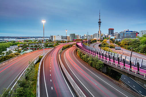 New Zealand「Auckland Light Path Bicycle Lane Highway Traffic New Zealand」:スマホ壁紙(13)