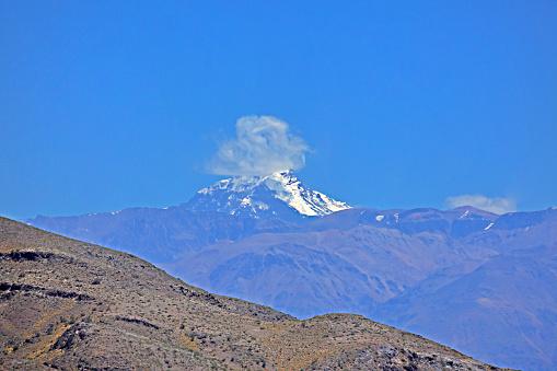 Mount Aconcagua「View of Mt Aconcagua in Argentina.」:スマホ壁紙(4)