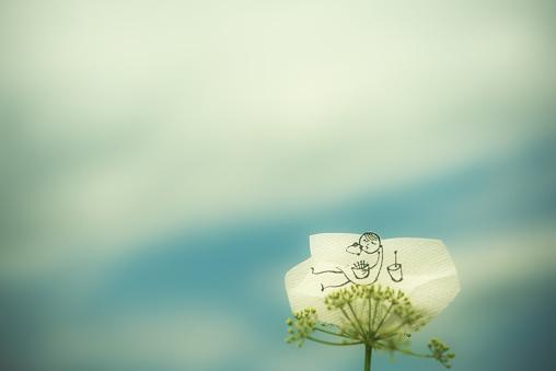 Paper Craft「Relax」:スマホ壁紙(12)
