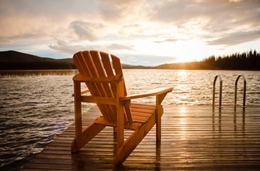 湖「Relax」:スマホ壁紙(18)