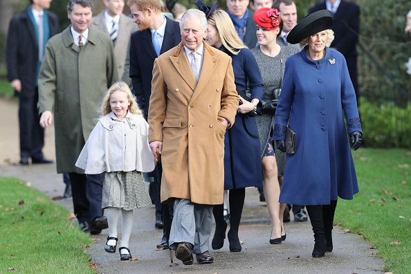 昼間「The Royal Family Attend Church On Christmas Day」:写真・画像(5)[壁紙.com]