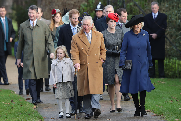 Christmas「The Royal Family Attend Church On Christmas Day」:写真・画像(4)[壁紙.com]