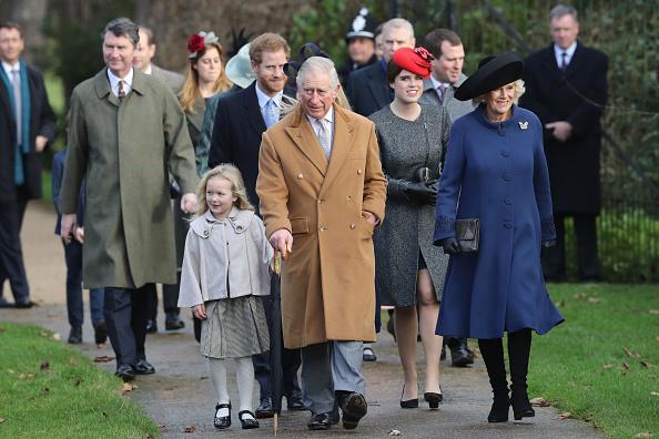 Royalty「The Royal Family Attend Church On Christmas Day」:写真・画像(3)[壁紙.com]