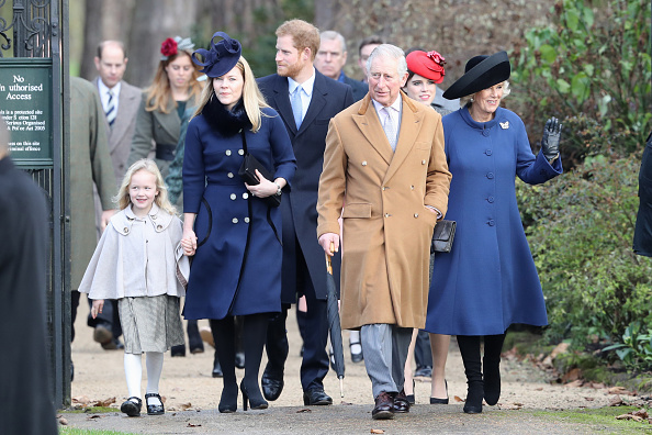 Christmas「The Royal Family Attend Church On Christmas Day」:写真・画像(13)[壁紙.com]