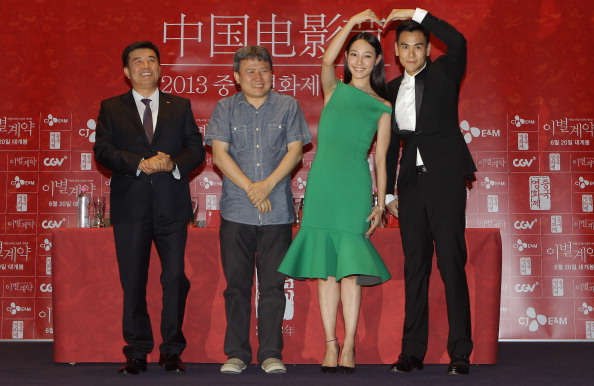 Peng Yuyan「Chinese Film Festival Closing Ceremony - Press Conference」:写真・画像(11)[壁紙.com]