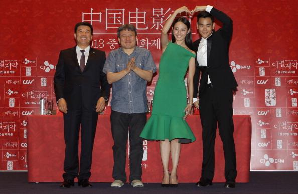 Peng Yuyan「Chinese Film Festival Closing Ceremony - Press Conference」:写真・画像(10)[壁紙.com]