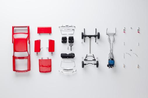 Part Of「Parts of a model car」:スマホ壁紙(1)