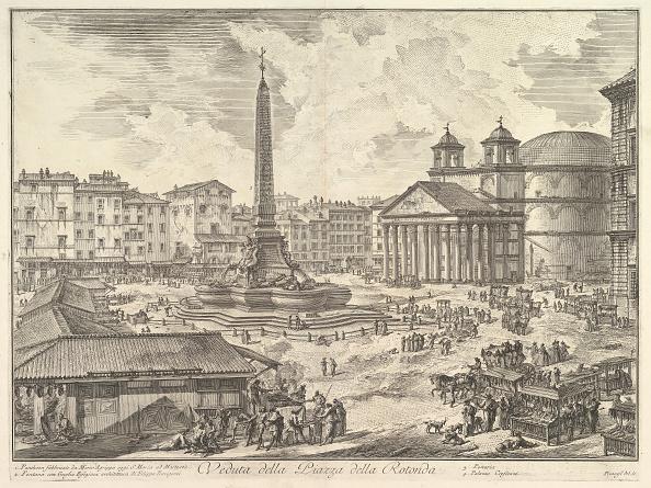 Circa 15th Century「The Piazza Della Rotonda」:写真・画像(9)[壁紙.com]