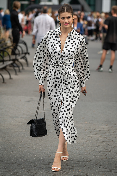 Polka Dot「Street Style - New York Fashion Week September 2019 - Day 5」:写真・画像(17)[壁紙.com]