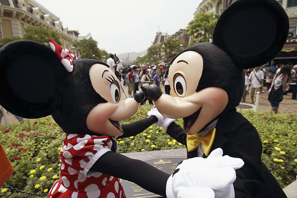 ミニーマウス「Grand Opening Of Disneyland In Hong Kong」:写真・画像(1)[壁紙.com]
