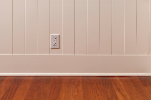 Wood Paneling「Power Outlet In Empty Room」:スマホ壁紙(7)