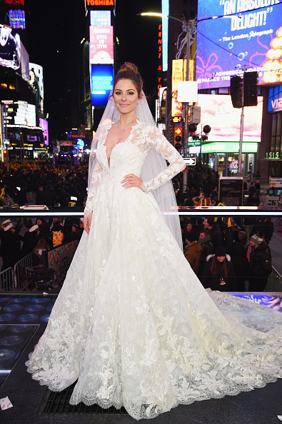 Wedding Dress「Maria Menounos and Steve Harvey Live from Times Square」:写真・画像(12)[壁紙.com]