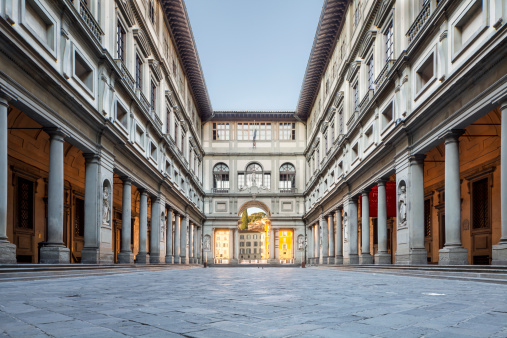 Italy「The Uffizi Gallery in Florence, Italy」:スマホ壁紙(14)