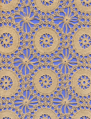 Needlecraft Product「crochet lace ground with circles」:スマホ壁紙(16)