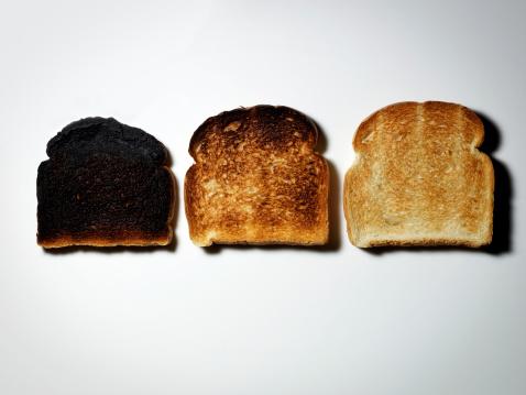Toasted Food「Three Pieces of Toast.」:スマホ壁紙(9)