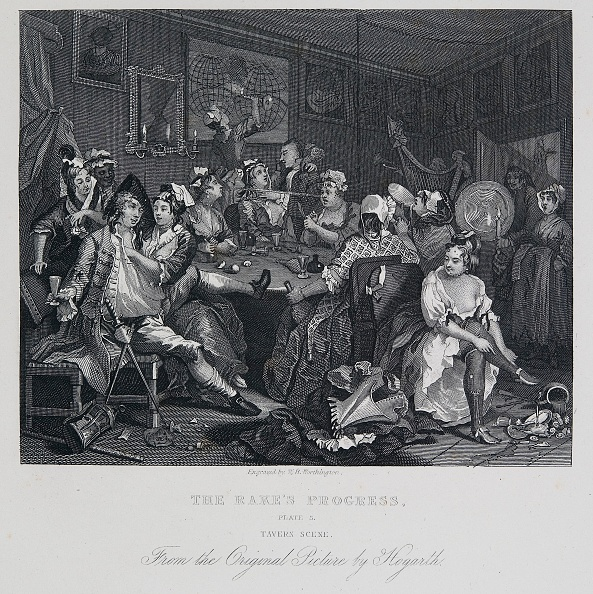 18th Century「A Rakes Progress: Tavern Scene,」:写真・画像(10)[壁紙.com]