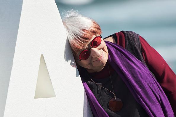 サングラス「Agnes Varda - Donostia Award Photocall - 65th San Sebastian Film Festival」:写真・画像(1)[壁紙.com]
