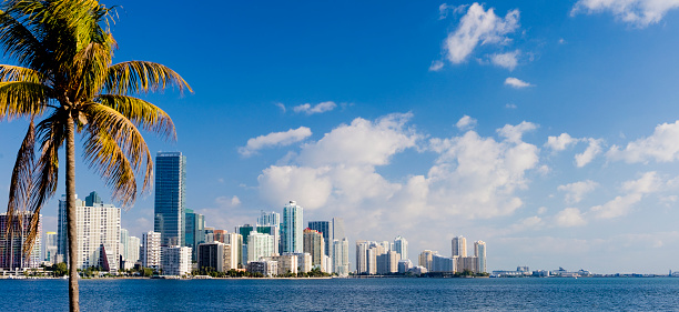 Miami「Miami Brickell City Skyline Florida USA」:スマホ壁紙(13)