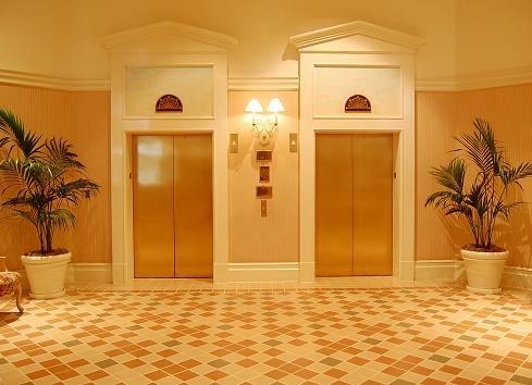 Vehicle Door「Gold Elevators」:スマホ壁紙(10)