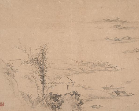 Water's Edge「River Scene. Creator: Unknown.」:写真・画像(14)[壁紙.com]