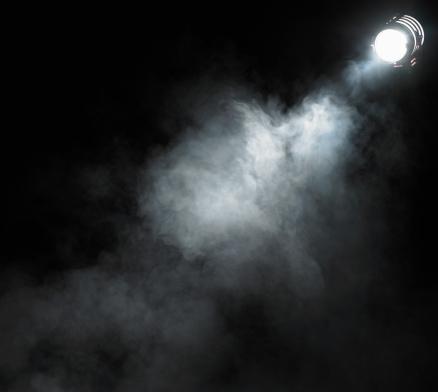 Dry Ice「Smoke beneath spotlight」:スマホ壁紙(9)