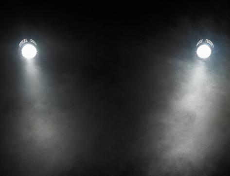 Dry Ice「Smoke beneath spotlights」:スマホ壁紙(16)
