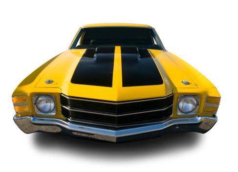 Hot Rod Car「Chevrolet Chevelle, The Road- 1971」:スマホ壁紙(3)