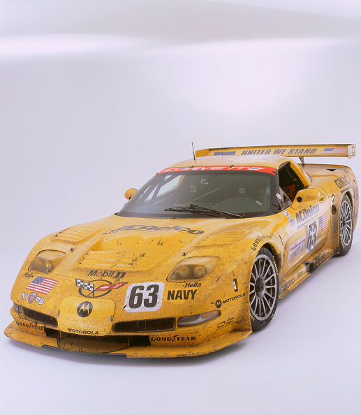 Model - Object「2002 Chevrolet Corvette Le Mans racing car」:写真・画像(4)[壁紙.com]