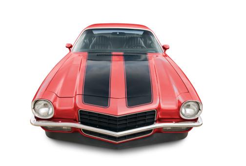 Hot Rod Car「Chevrolet Camaro - 1971」:スマホ壁紙(7)