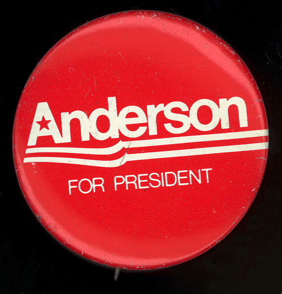 Empty「'Anderson For President' Campaign Button」:写真・画像(0)[壁紙.com]