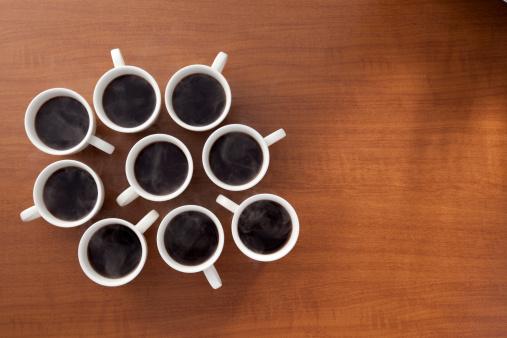 蒸気「数多くのホットコーヒー」:スマホ壁紙(11)