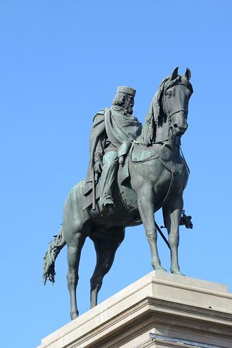General - Military Rank「Equestrian Monument to Garibaldi Janiculum Hill or Park Rome Italy」:スマホ壁紙(18)