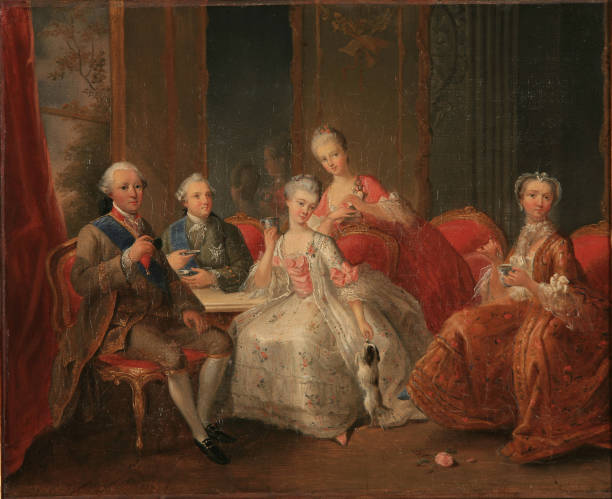 The Family Of The Duke Of PenthiËvre Also Known As The Cup Of Chocolate 1768:ニュース(壁紙.com)