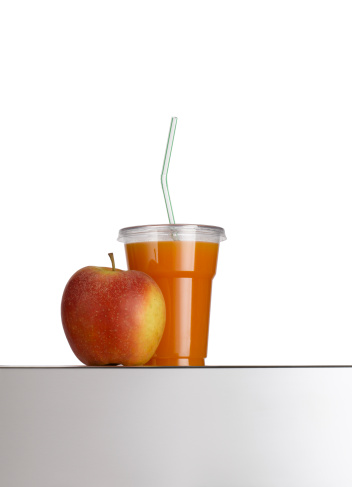 Drinking Straw「Apple and Fruit Juice」:スマホ壁紙(13)