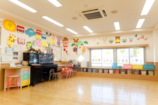神奈川県「Room of Day-care Center for Children」:スマホ壁紙(3)