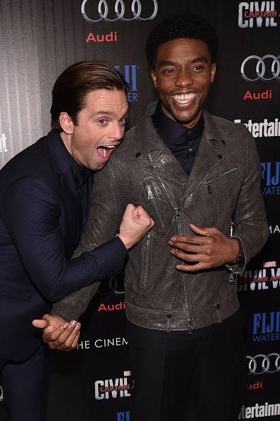 """Awe「The Cinema Society With Audi And FIJI Water Host A Screening Of Marvel's """"Captain America: Civil War""""」:写真・画像(9)[壁紙.com]"""