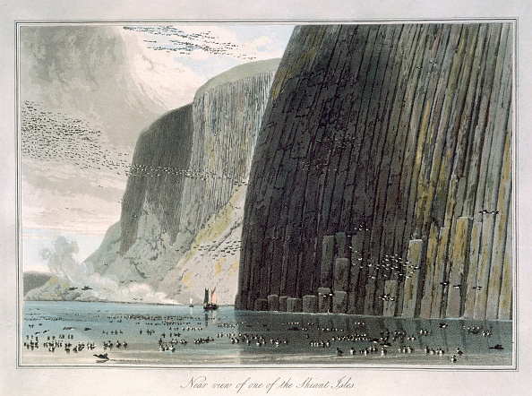 Engraving「Near View Of One Of The Shiant Isles' Outer Hebrides Scotland 1829」:写真・画像(15)[壁紙.com]
