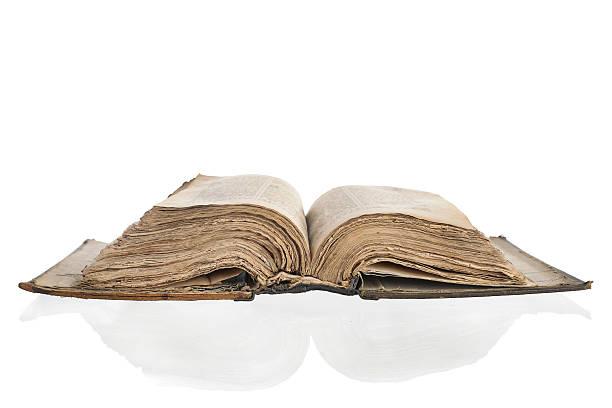 Old yellowed book:スマホ壁紙(壁紙.com)
