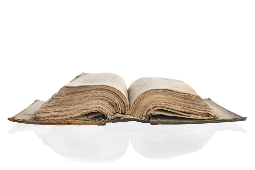 Manuscript「Old yellowed book」:スマホ壁紙(19)