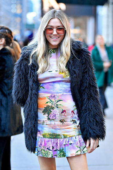 Tropical Pattern「Seen Around - February 2020 - New York Fashion Week: The Shows - Day 6」:写真・画像(18)[壁紙.com]