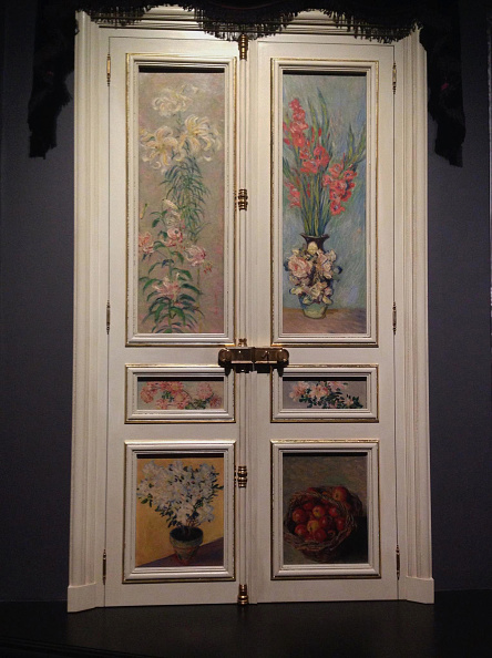 Patio Doors「French Door Paul Durand-Ruel's Grand Salon At Rue De Rome 1883」:写真・画像(1)[壁紙.com]