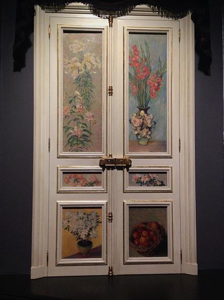 静物「French Door Paul Durand-Ruel's Grand Salon At Rue De Rome 1883」:写真・画像(17)[壁紙.com]