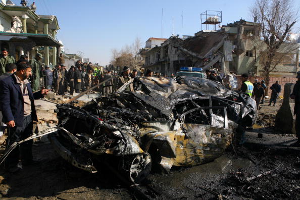 Afghan Ethnicity「Suicide Bombing Kills Eight In Kabul」:写真・画像(7)[壁紙.com]
